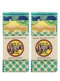 2 x 5 packs of beeswax food wraps