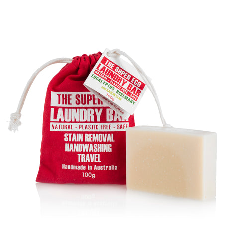Laundry Bar - Eco-friendly Plastic-Free Detergent