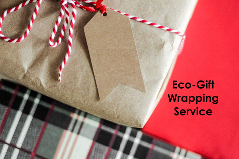 eco-friendly gift wrapping service beeswax wraps