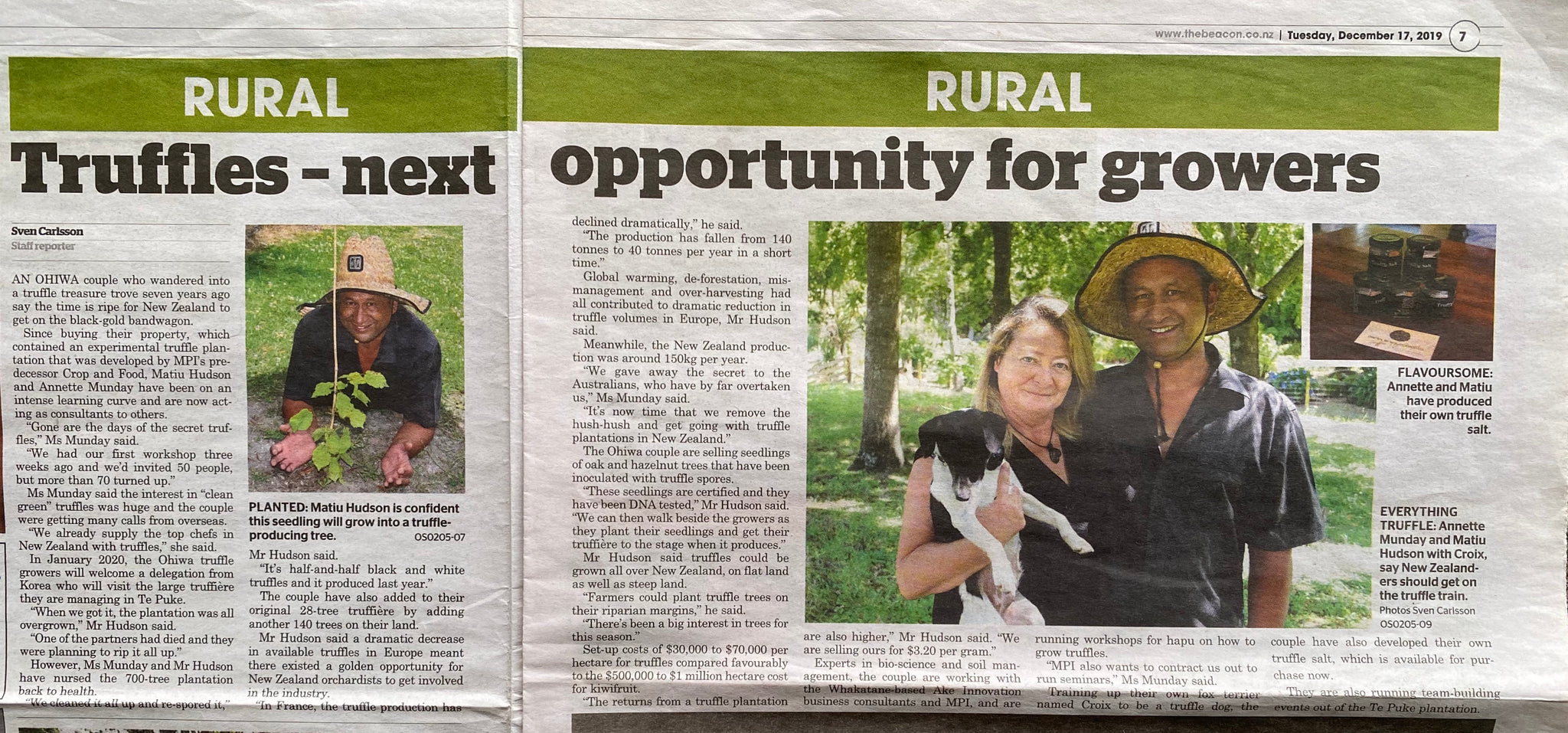 Truffle - Next Opportunity for Growers
