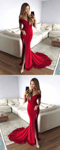 Load image into Gallery viewer, Mermaid Long Prom Dress School Dance Dress Fashion Winter Formal Dress YDP0307