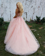Load image into Gallery viewer, 2021 Ball Gown Long Prom Dresses,Sweet 16 Dresses ,Formal Dresses ,Wedding Dress YPS1064
