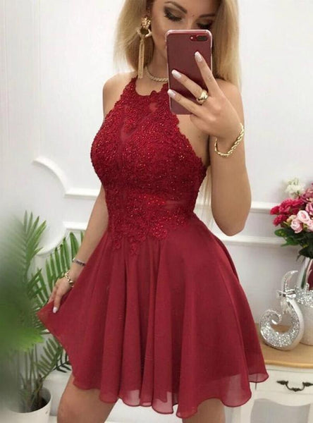 2019 Hoco dress ,Short Prom Dress, Fashion Homecoming Dresses , YDH0115
