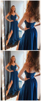 Simple Long Prom Dress Custom Made Formal Dress Fashion Winter Dance Dress YDP0126
