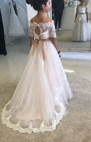Custom Made Flower Girl Dress Fashion Ball Gown Flower Girl Dress YF004