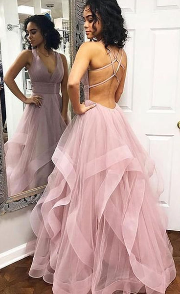 Sexy Long Prom Dresses Ball Gown Custom-made School Dance Dress Fashion Graduation Party Dress YDP0493