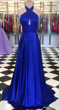 Load image into Gallery viewer, Simple Long Prom Dress 8th Graduation Dress Custom-made School Dance Dress YDP0721