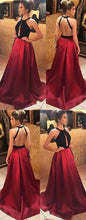 Load image into Gallery viewer, Open Back Sey Long Prom Dress Sweet 16 Dance Dress Fashion Winter Formal Dress YDP0219