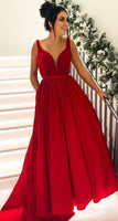 Grad Dresses Long ,Long Prom Dresses , 8th Graduation Dress ,School Dance Dress YDP1066