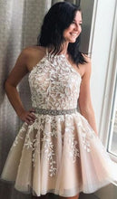 Load image into Gallery viewer, Homecoming dresses ,Short Prom Dress, 8th Graduation Dress ,Custom-made School Dance Dress YDH0109