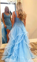 Prom Dress High-Low  Graduation Custom-made School Dance Dress  YDP0651