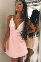 Simple Homecoming dresses ,Short Prom Dresses, 8th Graduation Dress ,Custom-made School Dance Dress YDH0098