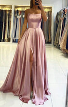 Load image into Gallery viewer, Simple Prom Dresses Long Prom Dresses 8th Graduation Dress School Dance Winter Formal Dress YDP1027