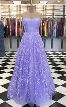 Load image into Gallery viewer, Sweetheart Lace Long Prom Dresses ,Formal Dresses YPS1081