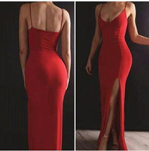 Load image into Gallery viewer, Sexy Prom Dress Long Prom Dresses 8th Graduation Dress School Dance Winter Formal Dress YDP0989