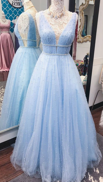 Sexy Long Prom Dress With Beading 8th Graduation Dress Custom-made School Dance Dress YDP0688