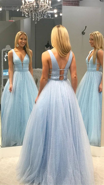 Sparkly Long Prom Dresses 8th Graduation Dress School Dance Winter Formal Dress YDP0922