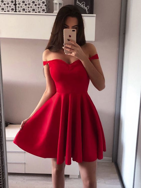 2019 Homecoming dress ,Short Prom Dress, 8th Graduation Dress ,Custom-made School Dance Dress YDH0040