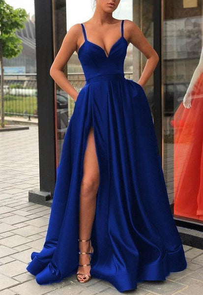 Simple Long Prom Dress 8th Graduation Dress Custom-made School Dance Dress YDP0728