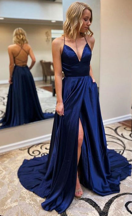2020 Simple Prom Dresses Long Prom Dresses 8th Graduation Dress School Dance Wedding Formal Dress YDP1055