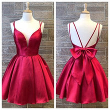 Load image into Gallery viewer, Simple Homecoming dresses ,Short Prom Dresses, 8th Graduation Dress ,Custom-made School Dance Dress YDH0100