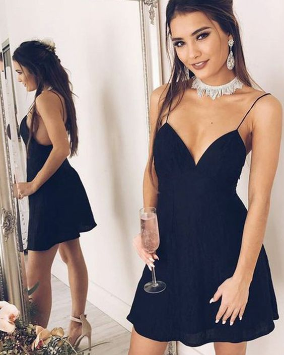 Simple Homecoming dresses ,Short Prom Dresses, 8th Graduation Dress ,Custom-made School Dance Dress YDH0101