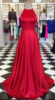 Simple Long Prom Dress Custom Made Formal Dress Fashion Winter Dance Dress YDP0131