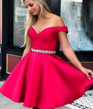 2019 Homecoming dress ,Short Prom Dress, 8th Graduation Dress ,Custom-made School Dance Dress YDH0042