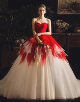 Sweetheart Ball Gown Wedding Dress ,Fashion Custom Made Bridal Dress YDW0060