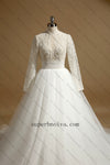 Real Photo Ball Gown Wedding Dress ,Fashion Custom Made Bridal Dress YDW0068