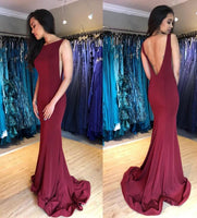 Mermaid Long Prom Dresses 8th Graduation Dress School Dance Winter Formal Dress YDP0938