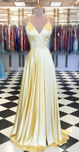 Load image into Gallery viewer, A-line Long Prom Dresses 8th Graduation Dress School Dance Winter Formal Dress YDP0878