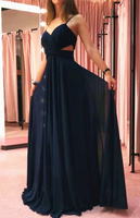 Prom Dress Simple Long Prom Dresses 8th Graduation Dress School Dance Winter Formal Dress YDP0953