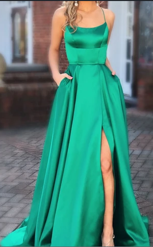 Prom Dress Simple Long Prom Dresses 8th Graduation Dress School Dance Winter Formal Dress YDP0954