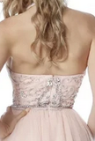 Prom Dress With Beading Long Prom Dresses 8th Graduation Dress School Dance Winter Formal Dress YDP0965