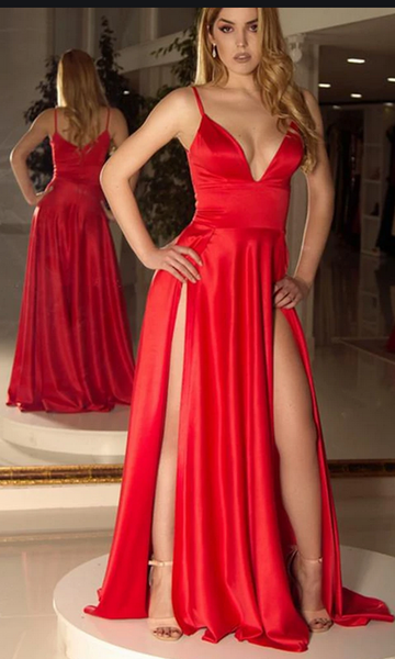 Sexy Prom Dress Long Prom Dresses 8th Graduation Dress School Dance Winter Formal Dress YDP0986
