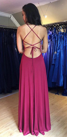 Simple Sexy Prom Dress Long Prom Dresses 8th Graduation Dress School Dance Winter Formal Dress YDP0994
