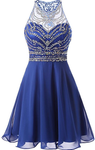 2020 Homecoming Dress with Beading ,2020 School Dance Dress ,Short Prom Dress YDH0142