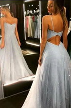 Load image into Gallery viewer, Sparkly Long Prom Dresses 8th Graduation Dress School Dance Winter Formal Dress YDP0921