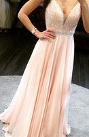 Beaded Long Prom Dress ,8th Graduation Dress, Custom-made Wedding Party Dress YDP0769