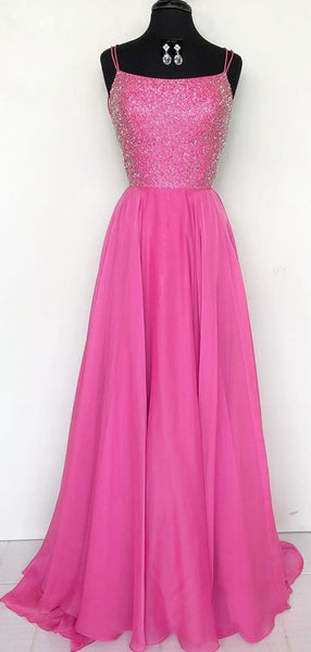 Long Prom Dress With Beading 8th Graduation Dress Custom-made School Dance Dress YDP0686