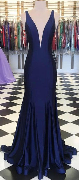 Simple Long Prom Dress 8th Graduation Dress Custom-made School Dance Dress YDP0717