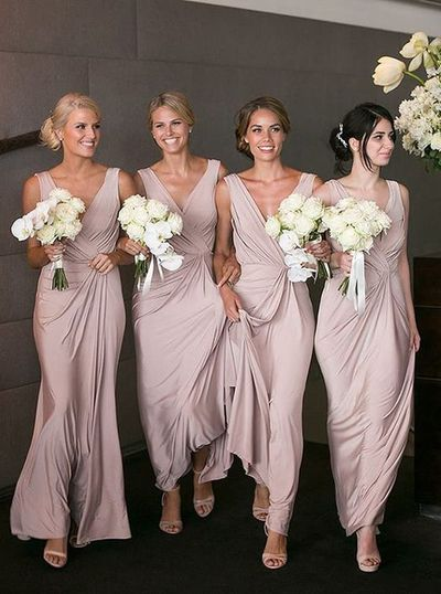 Long Bridesmaid Dress,Custom Made Future Wedding Formal Dress YDB0069