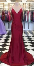 Load image into Gallery viewer, Simple Long Prom Dress 8th Graduation Dress Custom-made School Dance Dress YDP0718