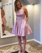 Load image into Gallery viewer, Short Homecoming dress Prom Dress 8th Graduation Dress Custom-made School Dance Dress YDH0004