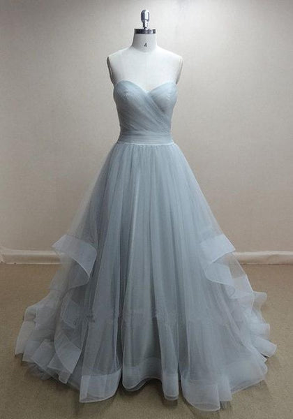 Strapless Ball Gown Long Prom Dress Sweet 16 Dance Dress Fashion Winter Formal Dress YDP0225