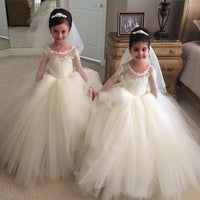 Custom Made Flower Girl Dress Fashion Flowergirl Dress SF026