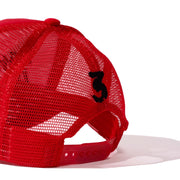 RED TRUCKER THRILLER HAT