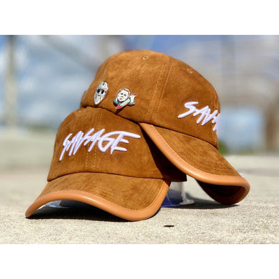 Wheat Suede Savage Hat