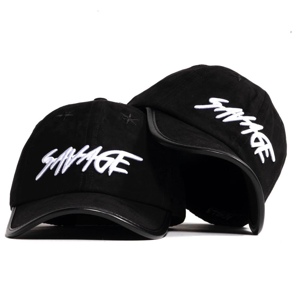 Black & White Suede Savage Hat
